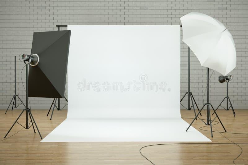 στούντιο φωτογραφιών διανυσματική απεικόνιση