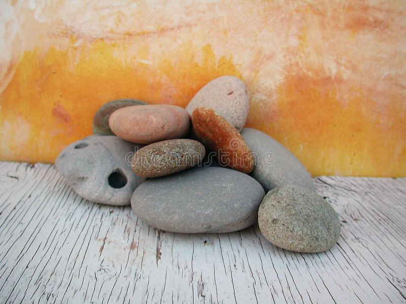 στούντιο 2 πετρών παραλιών ελαφρύ φυσικό στοκ φωτογραφία με δικαίωμα ελεύθερης χρήσης