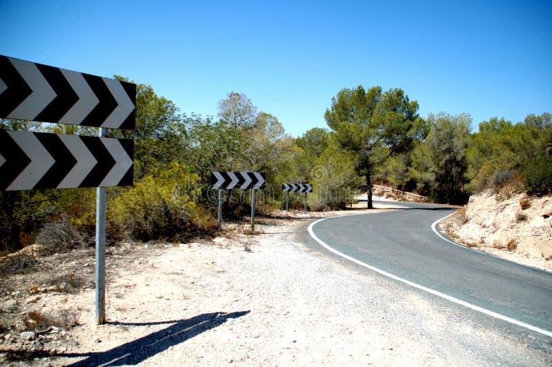 Στο δρόμο κάπου στοκ φωτογραφία με δικαίωμα ελεύθερης χρήσης