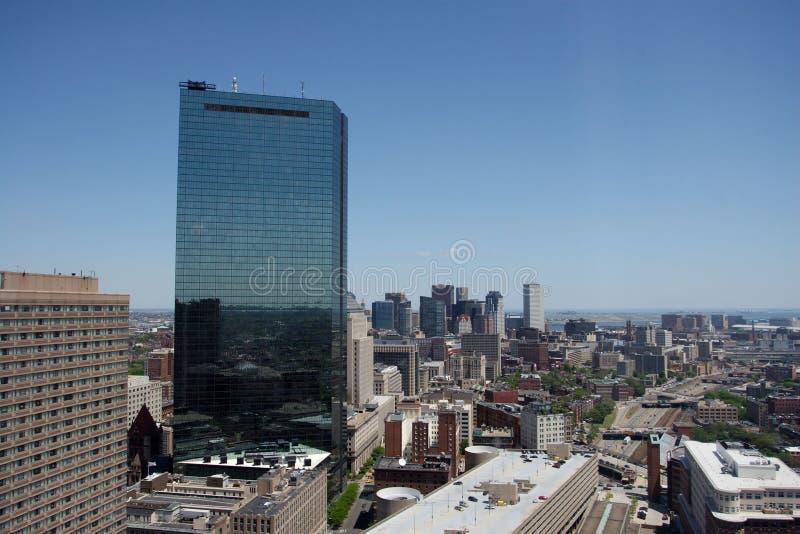 στο κέντρο της πόλης όψη της Βοστώνης στοκ φωτογραφίες με δικαίωμα ελεύθερης χρήσης