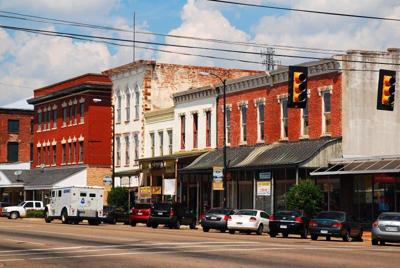 Στο κέντρο της πόλης Selma, Αλαμπάμα στοκ φωτογραφία με δικαίωμα ελεύθερης χρήσης