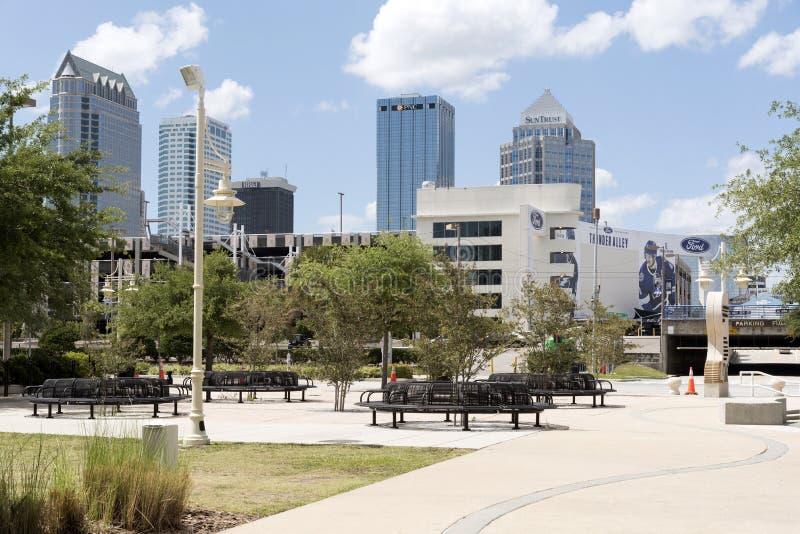 Στο κέντρο της πόλης ΛΦ ΗΠΑ της Τάμπα Parkland στοκ φωτογραφίες με δικαίωμα ελεύθερης χρήσης