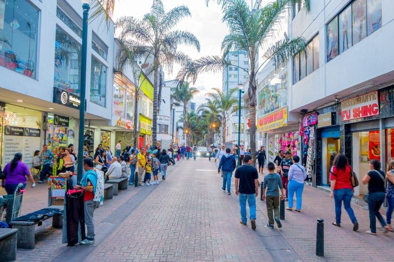 Στο κέντρο της πόλης πόλη του Manizales στην Κολομβία στοκ εικόνα με δικαίωμα ελεύθερης χρήσης