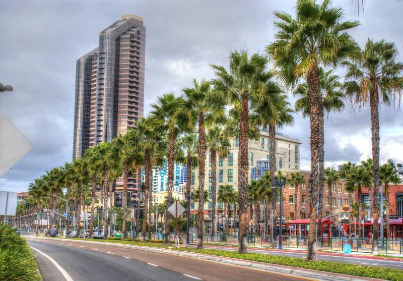 Στο κέντρο της πόλης Σαν Ντιέγκο, Καλιφόρνια στοκ φωτογραφίες
