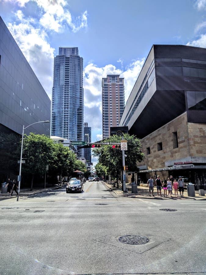 Στο κέντρο της πόλης Ώστιν Τέξας στοκ φωτογραφία με δικαίωμα ελεύθερης χρήσης