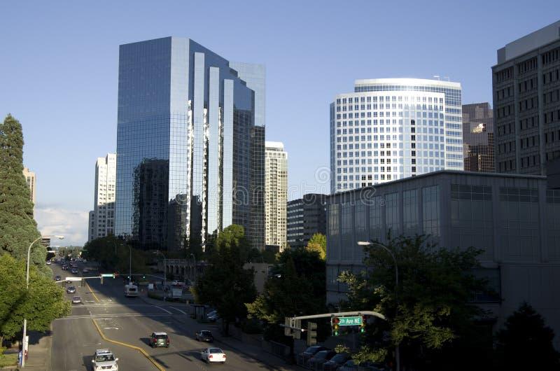 Στο κέντρο της πόλης Bellevue Εκδοτική εικόνα