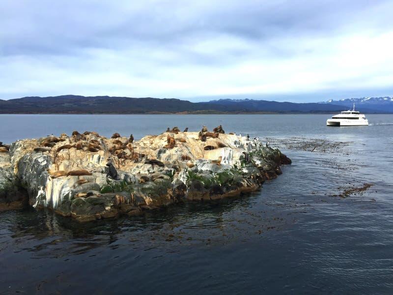 Στο κατώτατο σημείο του κόσμου - Ushuaia στοκ φωτογραφία με δικαίωμα ελεύθερης χρήσης