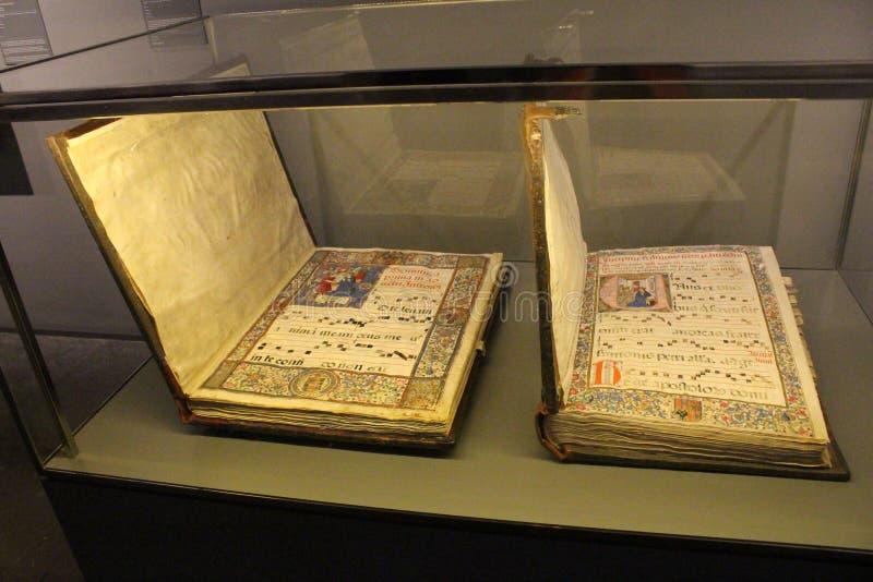 Στο μουσείο μοναστηριών Pedralbes στη Βαρκελώνη στοκ εικόνα με δικαίωμα ελεύθερης χρήσης