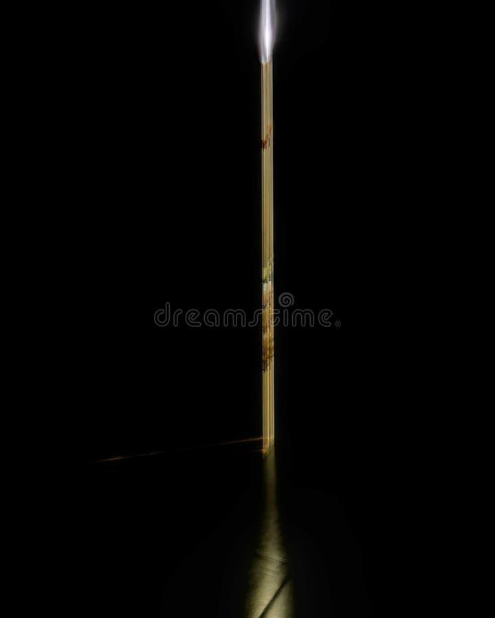 Στο σκοτάδι στοκ φωτογραφία με δικαίωμα ελεύθερης χρήσης