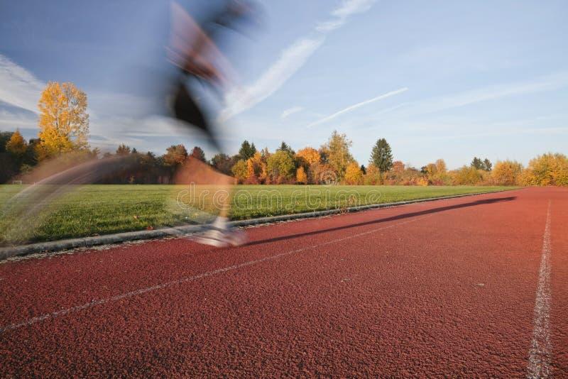 Στο τρέξιμο στοκ φωτογραφία