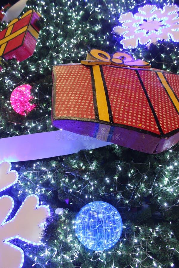 Στο φεστιβάλ Χριστουγέννων στοκ φωτογραφίες