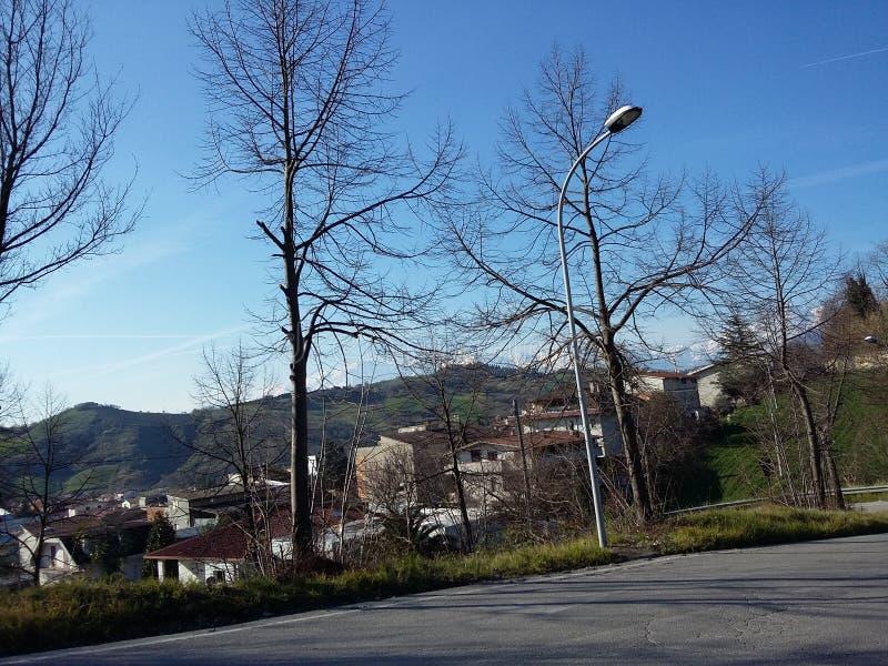 Στο Abruzzo στοκ εικόνα με δικαίωμα ελεύθερης χρήσης