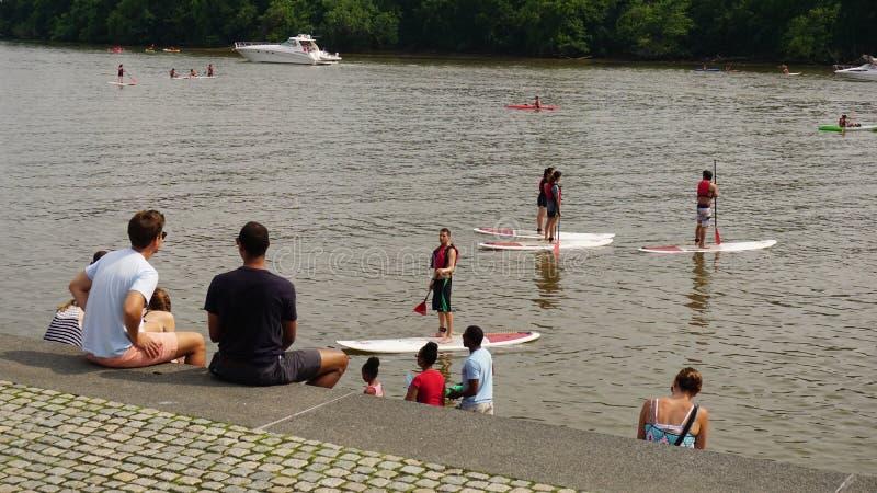 Στο Potomac ποταμό στοκ φωτογραφίες με δικαίωμα ελεύθερης χρήσης