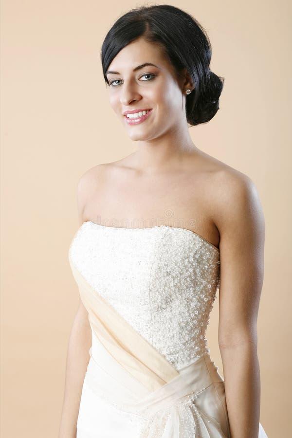 στράπλες γάμος φορεμάτων στοκ εικόνες