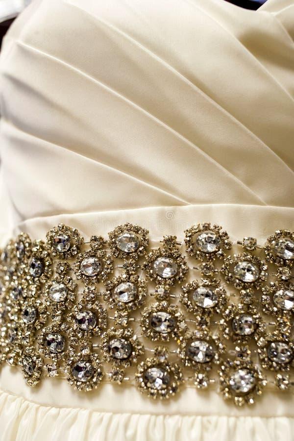 στράπλες γάμος φορεμάτων στοκ εικόνες με δικαίωμα ελεύθερης χρήσης