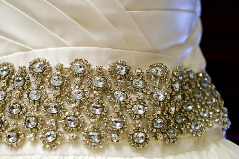 στράπλες γάμος φορεμάτων στοκ εικόνα με δικαίωμα ελεύθερης χρήσης