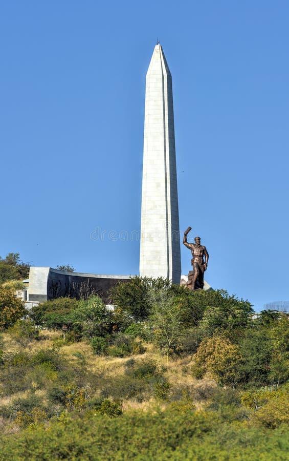 Στρέμμα ηρώων, Windhoek, Ναμίμπια, Αφρική στοκ φωτογραφία με δικαίωμα ελεύθερης χρήσης