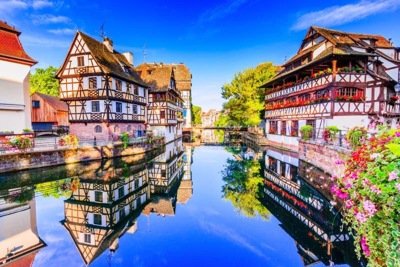 Στρασβούργο, Αλσατία, Γαλλία στοκ εικόνα