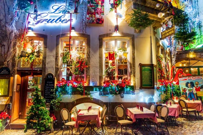 Στρασβούργο, Αλσατία, Γαλλία - Capitale de Noel στοκ φωτογραφίες με δικαίωμα ελεύθερης χρήσης