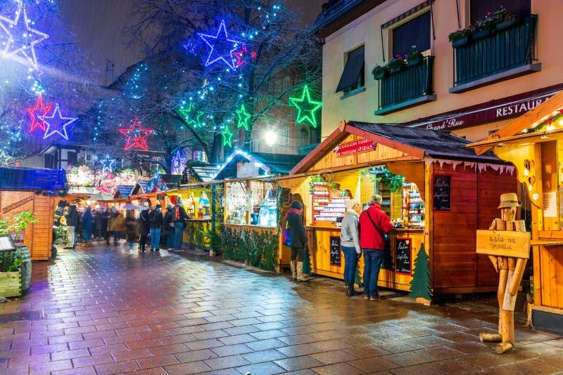 Στρασβούργο, Αλσατία, Γαλλία - Capitale de Noel στοκ εικόνα με δικαίωμα ελεύθερης χρήσης