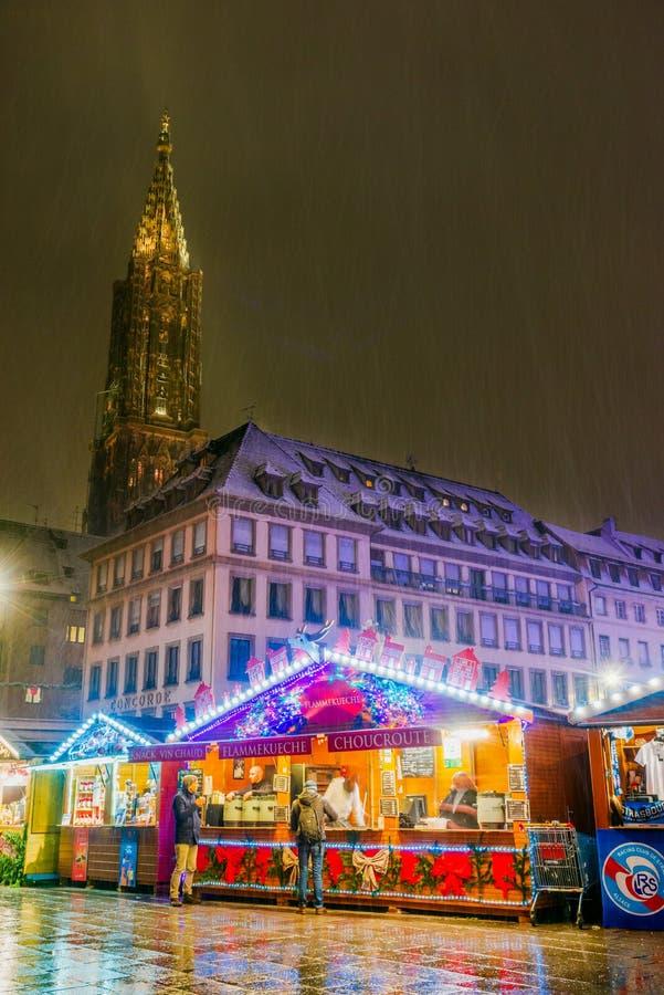 Στρασβούργο, Αλσατία, Γαλλία - Capitale de Noel στοκ εικόνα