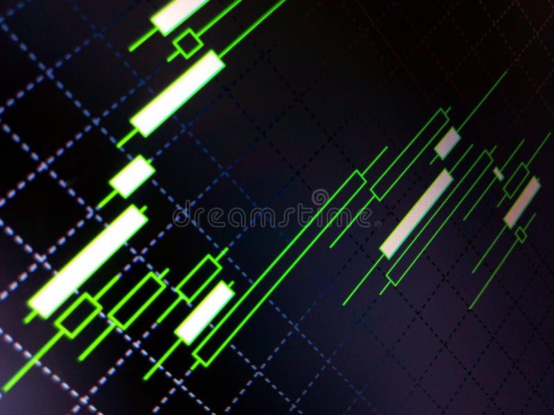 Στρατηγική εμπορικών συναλλαγών Forex στοκ φωτογραφία