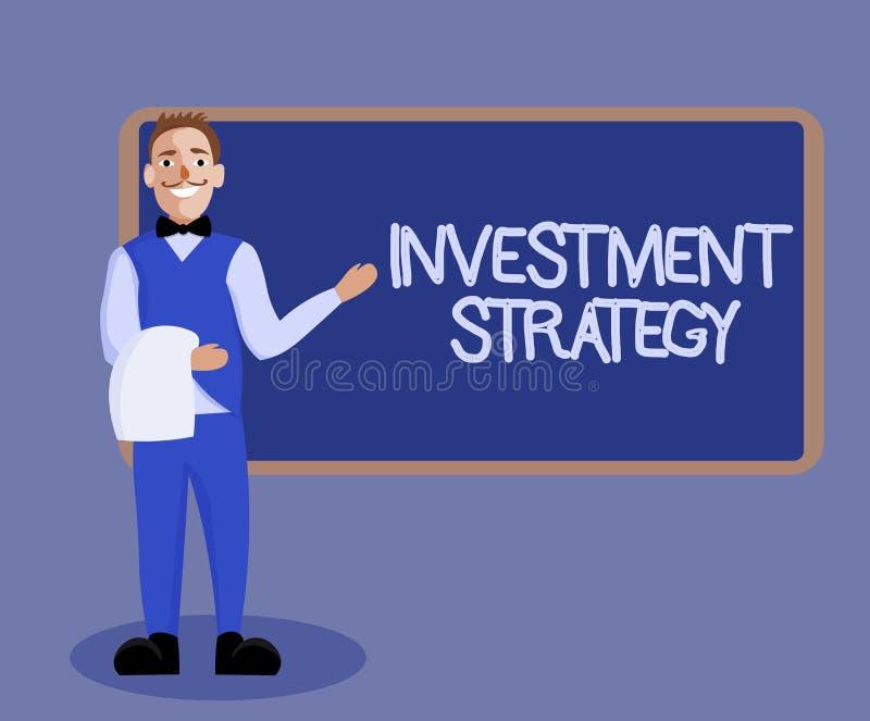Στρατηγική επένδυσης κειμένων γραψίματος λέξης Επιχειρησιακή έννοια για το σύνολο συμπεριφοράς διαδικασιών κανόνων ένας οδηγός γι ελεύθερη απεικόνιση δικαιώματος