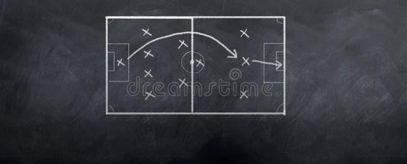 στρατηγική ποδοσφαίρου & ελεύθερη απεικόνιση δικαιώματος