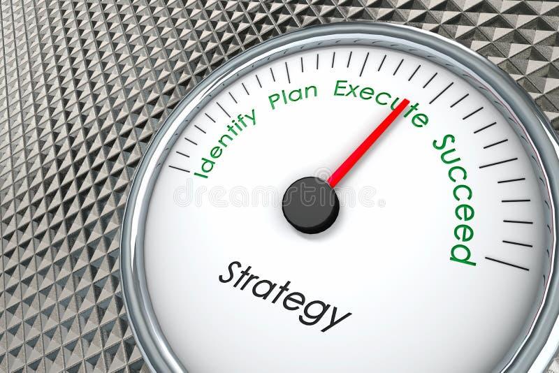 Στρατηγική πωλήσεων διανυσματική απεικόνιση