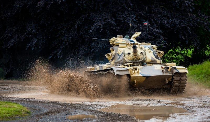 Στρατιωτική δεξαμενή στοκ εικόνες με δικαίωμα ελεύθερης χρήσης