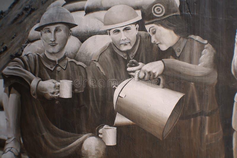 στρατιωτική ζωγραφική χε&r απεικόνιση αποθεμάτων