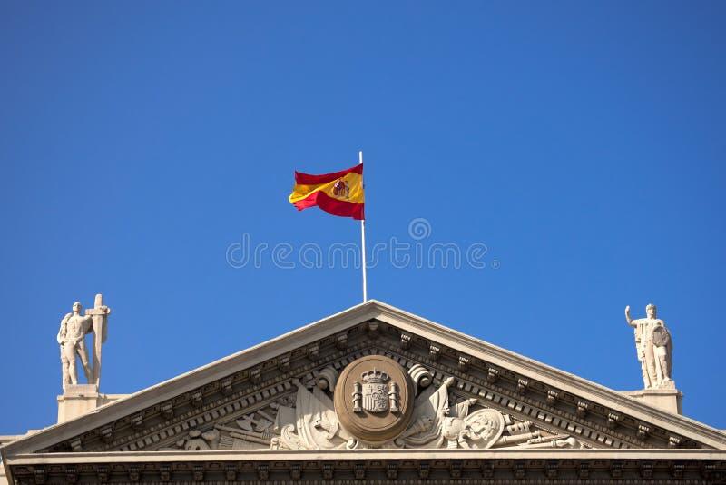 Στρατιωτική κυβέρνηση - Βαρκελώνη Ισπανία στοκ φωτογραφία με δικαίωμα ελεύθερης χρήσης
