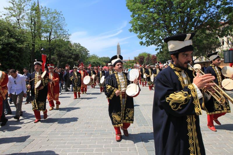 στρατιωτική μουσική Οθωμανός στοκ εικόνα με δικαίωμα ελεύθερης χρήσης