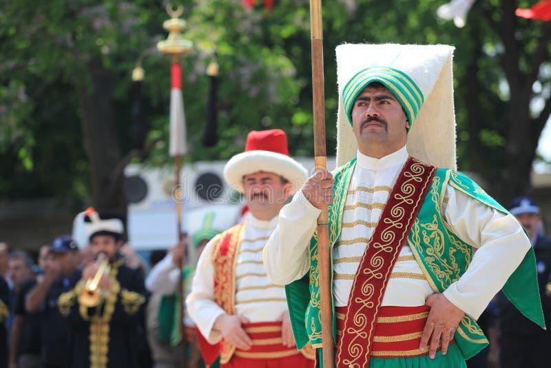 στρατιωτική μουσική Οθωμανός στοκ φωτογραφία με δικαίωμα ελεύθερης χρήσης