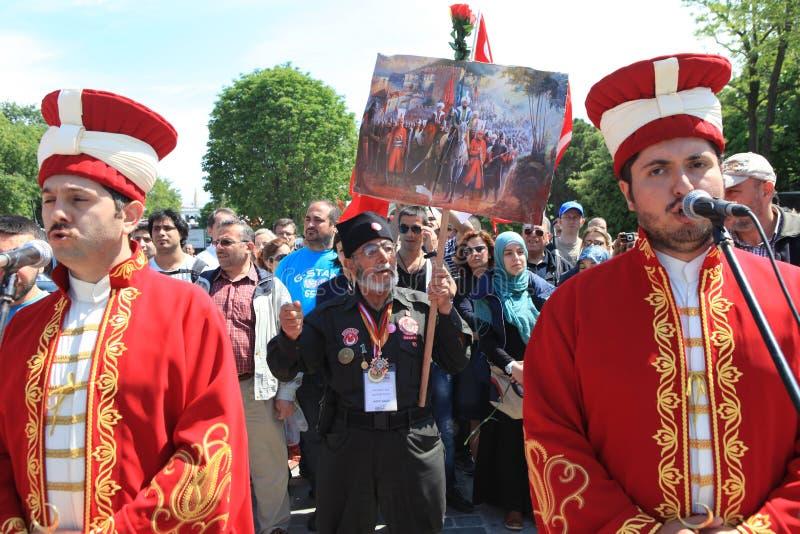 στρατιωτική μουσική Οθωμανός στοκ εικόνες με δικαίωμα ελεύθερης χρήσης