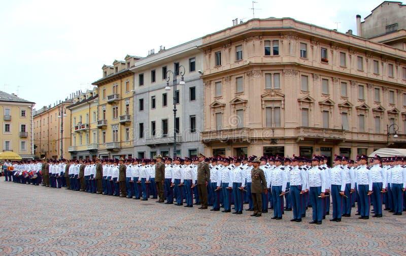 στρατιωτική παρέλαση στοκ φωτογραφίες