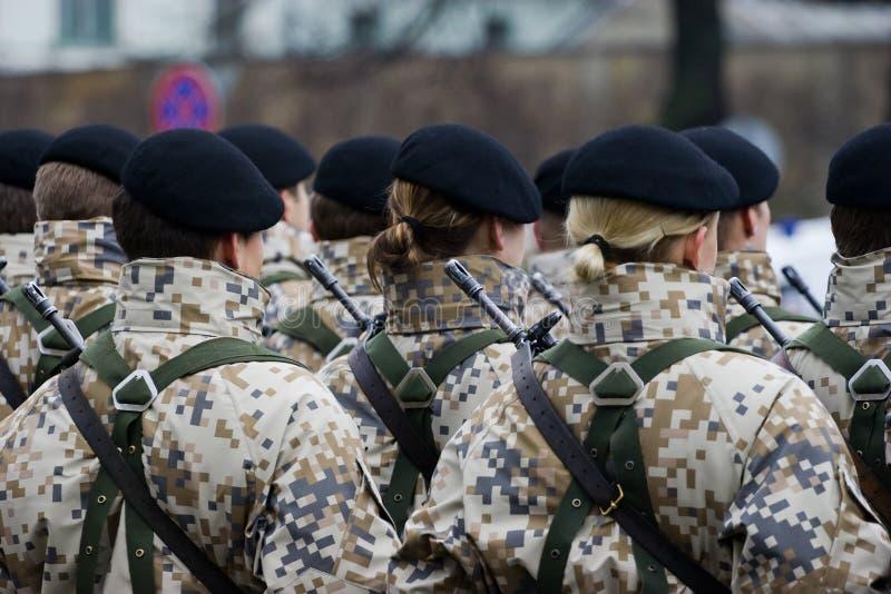 στρατιωτικοί στρατιώτες  στοκ εικόνες