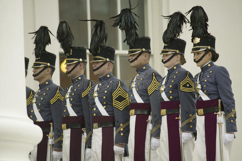 Στρατιωτικό ίδρυμα της Βιρτζίνια στοκ φωτογραφίες με δικαίωμα ελεύθερης χρήσης
