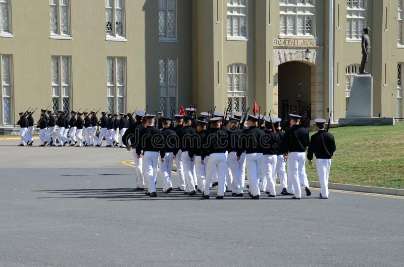 Στρατιωτικό ίδρυμα της Βιρτζίνια (VMI) στοκ εικόνες