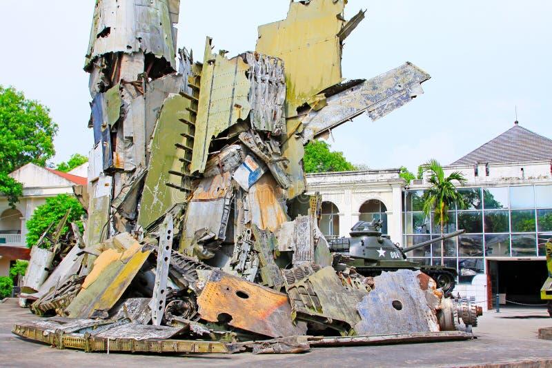 Στρατιωτικό μουσείο ιστορίας του Βιετνάμ, Ανόι Βιετνάμ στοκ φωτογραφίες με δικαίωμα ελεύθερης χρήσης