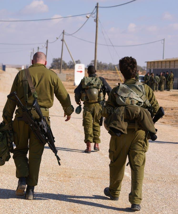 στρατιώτες άσκησης στοκ εικόνες με δικαίωμα ελεύθερης χρήσης