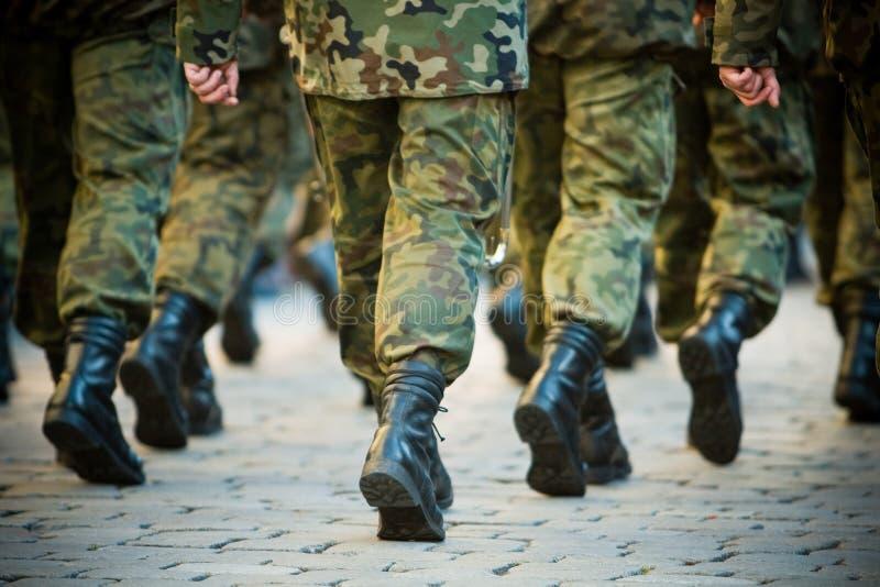 στρατιώτες στοκ φωτογραφία