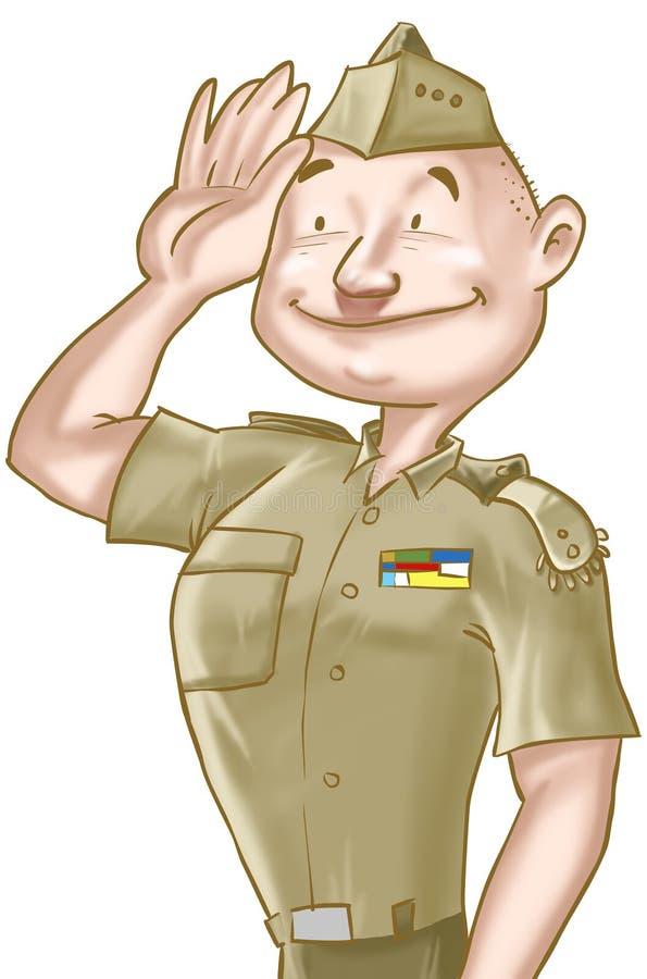 στρατιώτης απεικόνιση αποθεμάτων