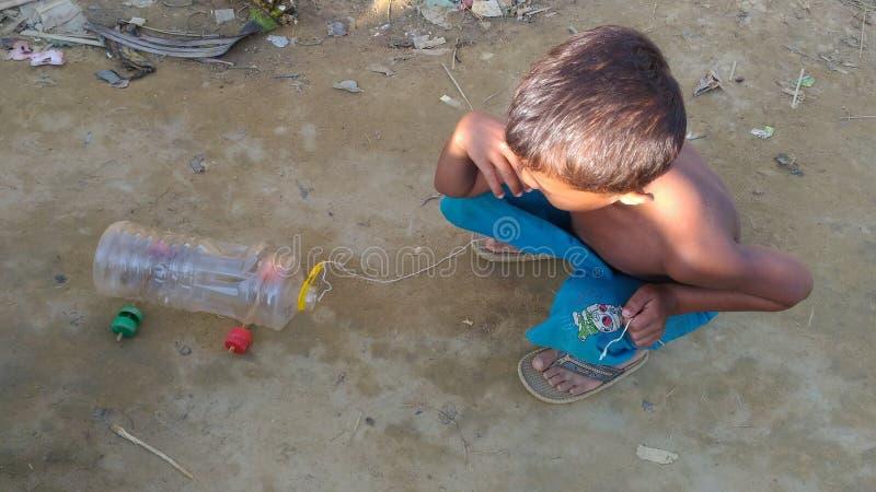 Στρατόπεδο προσφύγων Rohingya Kutupalong στοκ φωτογραφία με δικαίωμα ελεύθερης χρήσης