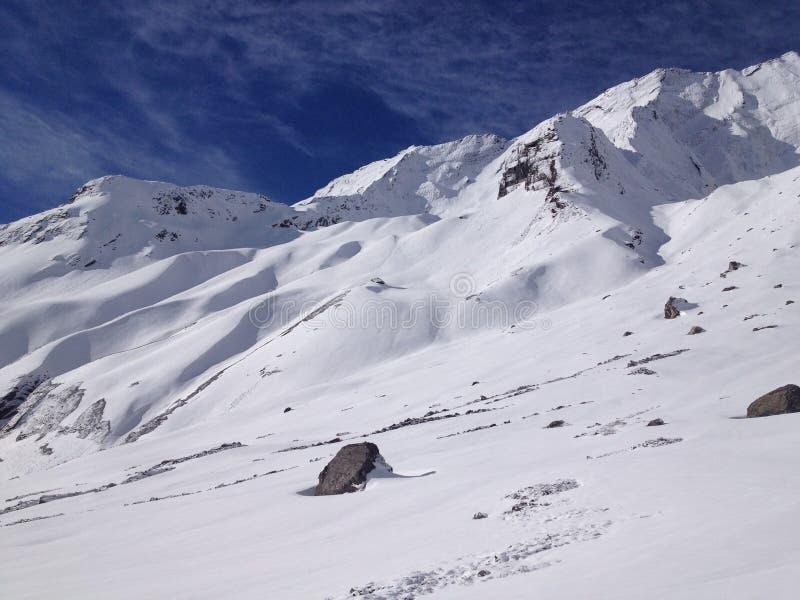 Στρατόπεδο βάσεων Annapurna (ABC), Νεπάλ - Ιμαλάια στοκ φωτογραφία με δικαίωμα ελεύθερης χρήσης