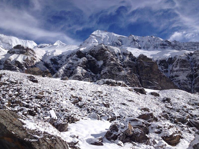 Στρατόπεδο βάσεων Annapurna (ABC), Νεπάλ - Ιμαλάια στοκ εικόνες με δικαίωμα ελεύθερης χρήσης