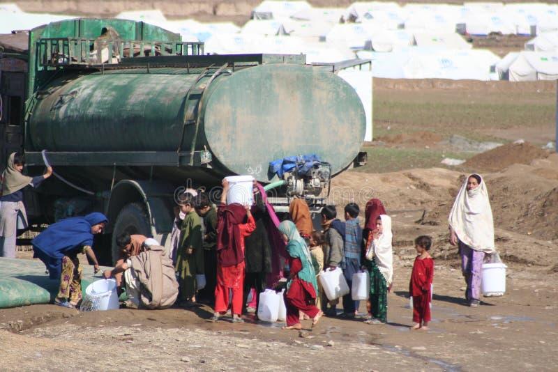 Στρατόπεδο προσφύγων Mohmand στοκ εικόνα