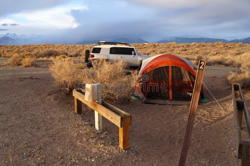 Στρατόπεδο του Κολοράντο στοκ εικόνες με δικαίωμα ελεύθερης χρήσης