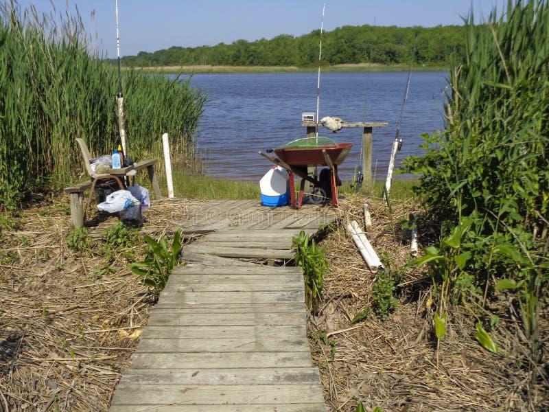 Στρατόπεδο ψαριών στοκ φωτογραφίες με δικαίωμα ελεύθερης χρήσης