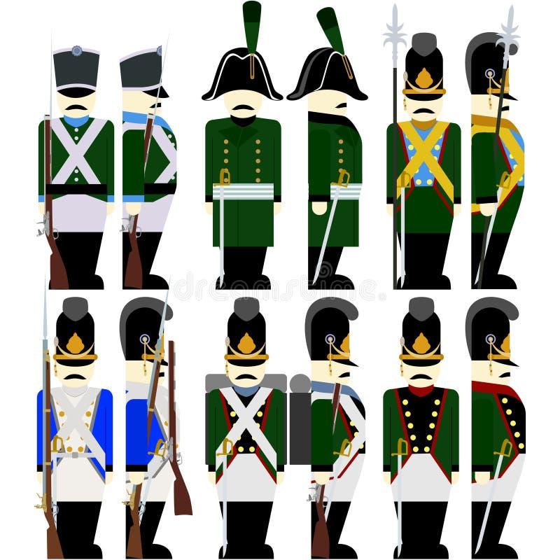 75785ab8040 Στρατός Βαυαρία στρατιωτικών στολών το 1812-5 Διανυσματική ...